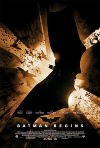 постер Бэтмен: начало / Batman Begins;